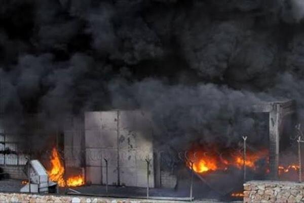 آتش سوزی در یک کارخانه در بنگلادش/دستکم ۱۰ تن طعمه حریق شدند