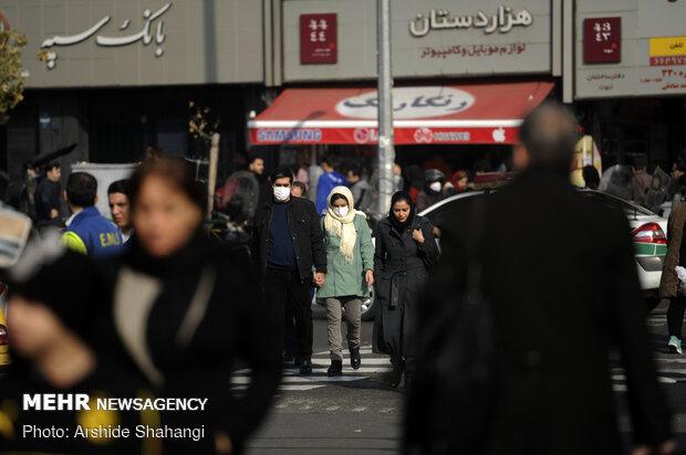 الهواء في طهران غير مناسب لكل الفئات