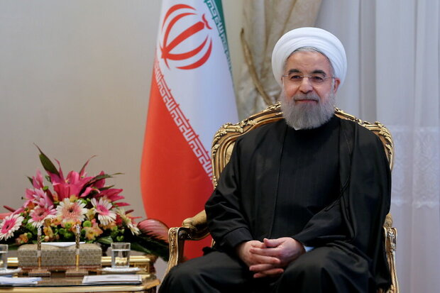 Pres. Rouhani felicitates New Year to heads of states