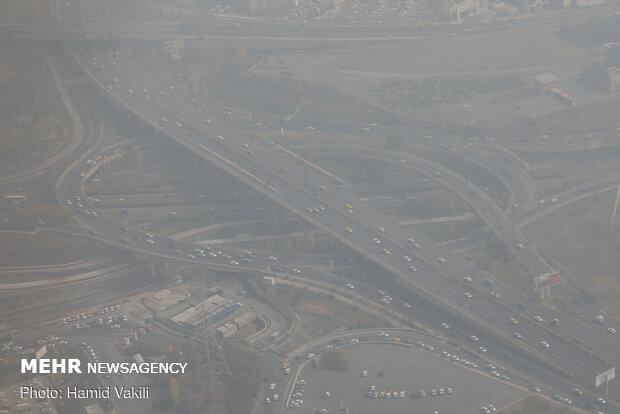 آلودگی هوای تهران