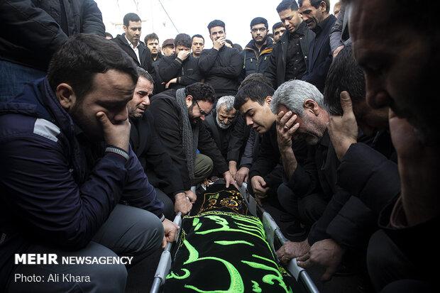 تشییع پیکر زهرا عبدالمحمدی خبرنگار فقید خبرگزاری فارس