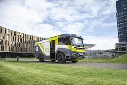 استفاده آتش نشانی هلند از ماشین های برقی