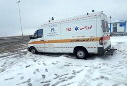 اجرای طرح امداد زمستانی اورژانس در جادههای کرمانشاه