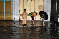 نیاز فوری خرمشهر به تانکر/حل بحران آبگرفتگی در۳نقطه شهر دشوار است