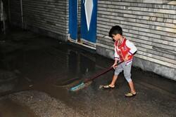 ۳ میلیون مترمکعب آب در بارندگی اخیر وارد آبادان شد