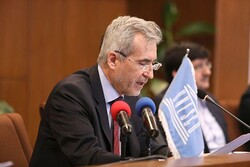 UNESCO chief in Tehran