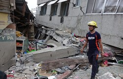 اضرار الزلزال في الفلبين/صور