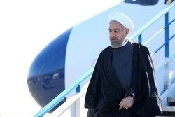 Pres. Rouhani lands in Kuala Lumpur to attend 'Kuala Lumpur Summit 2019'