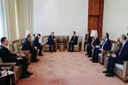 الأسد يستقبل نائب رئيس الوزراء الروسي