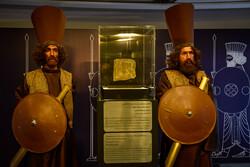 افتتاح نمایشگاه نقشبرجسته سرباز هخامنشی