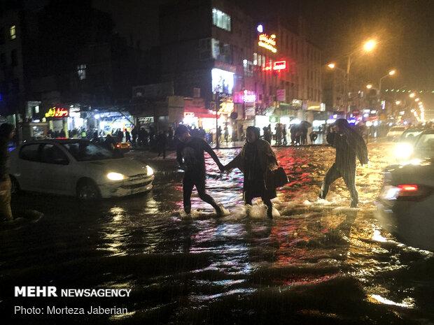 Ahvaz'da sel felaketi