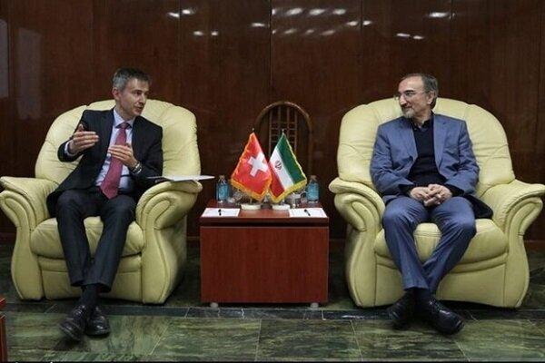 Swiss envoy invites Iran to take part in 'blue peace' plan