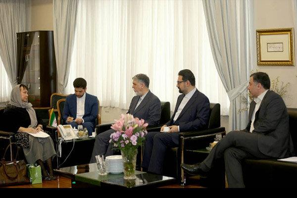 دیدار وزیر فرهنگ و ارشاد اسلامی با سفیر اسلوونی در تهران