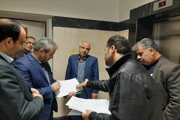 بازدید رئیس کل محاکم تهران از مجتمع قضایی شهید قدوسی