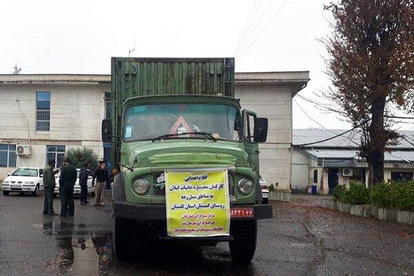 اقلام لازم برای ساخت ۱۰۰ واحد مسکونی به گمیشان گلستان ارسال شد