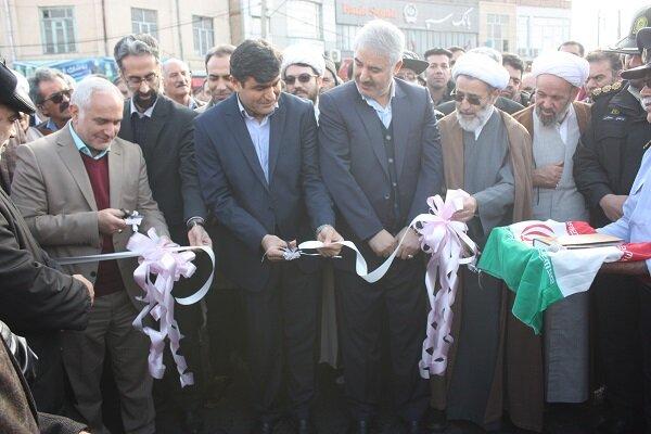 مرکز شهر  مرند بازگشایی شد