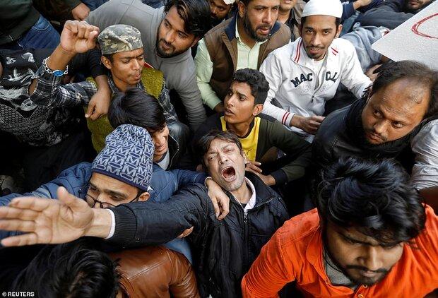 تظاهرات علیه قانون جدید شهروندی در هند