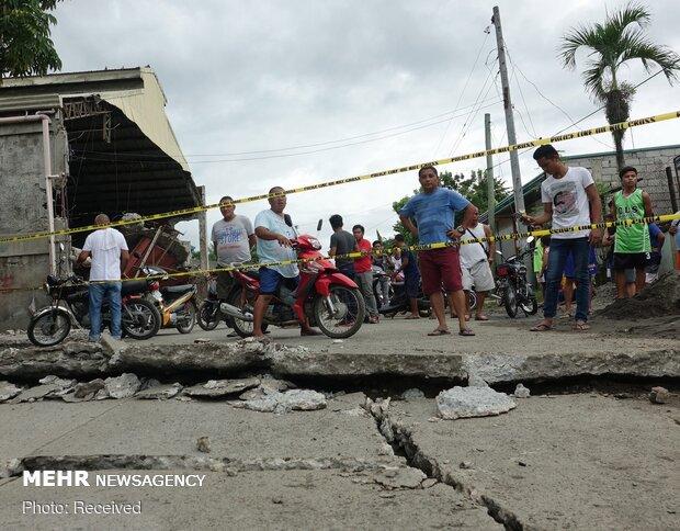 خسارات زلزله در فیلیپین