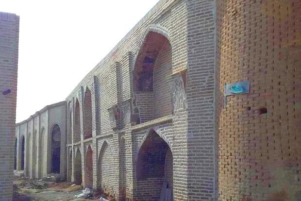 فاز دوم مرمت بنای تاریخی مسجد سرخ ساوه به پایان رسید