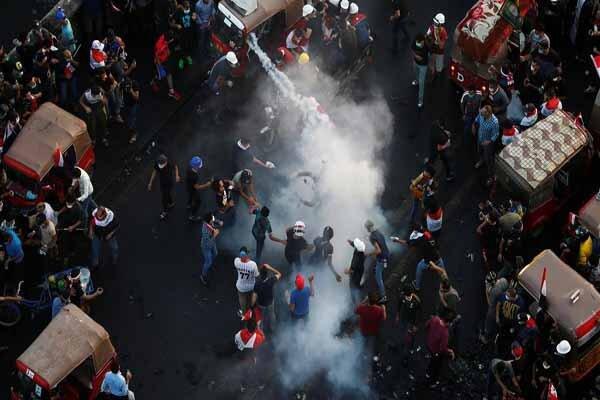درگیری مجدد میان نیروهای امنیتی و معترضان در میدان الوثبه بغداد
