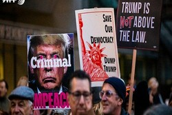 VIDEO: Thousands call for Trump's ouster in multiple cities
