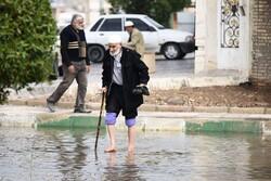 وضعیت خیابان های آبادان، دو روز پس از بارندگی