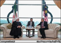 Hassan Rouhani and ahathir Mohamad