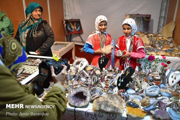 Şiraz'da El Sanatları Fuarı