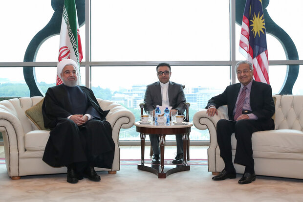 Iranian President, Malaysian PM meet in Kuala Lumpur