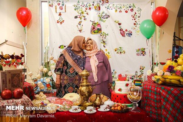 'Yalda' celebration ceremony in Day Care Center in Bojnourd