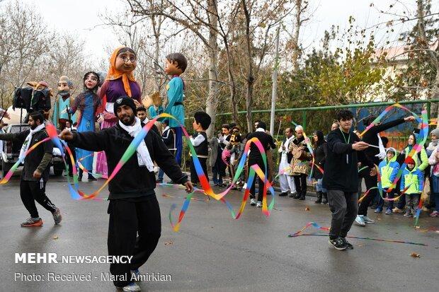 22nd intl. storytelling fest. in Tehran