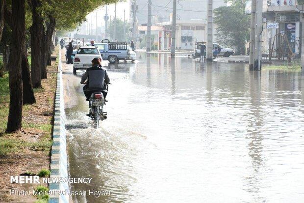 هشدار نسبت به آبگرفتگی مناطق ساحلی در مازندران
