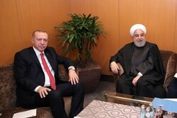 Iranian, Turkish presidents discuss Syrian developments
