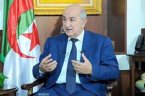 رئيس الجزائر: نرفض التطبيع مع الكيان الصهيوني ولن نكون جزءاً منه