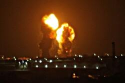 غزہ پٹی پر اسرائیلی فورسز کا وحشیانہ حملہ