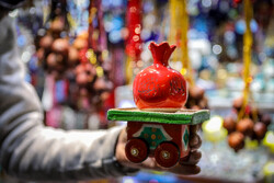 """سوق تجريش  الشعبية في ليلة """"يلدا"""" بطهران"""