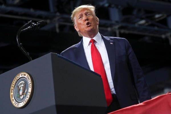 Trump: Demokratlar anayasayı ihlal ediyor