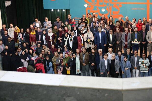 آیین پایانی هفتمین دوسالانه داستان کوتاه نارنج برگزار شد