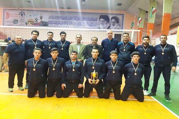 تیم والیبال ناشنوای آذربایجان غربی مقام سوم کشوری را کسب کرد