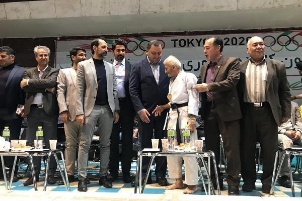 اجرای زیبای کاتای مرد ۷۴ ساله/برگزاری جشن پس از کسب سهمیه المپیک