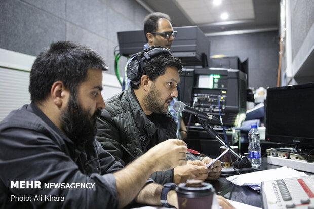پرده خوانی حامد بهداد برای فیلم سینمایی «جهان با من برقص» ویژه نابینایان