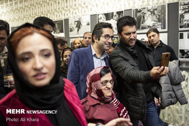 حامد بهداد در حاشیه اکران فیلم سینمایی «جهان با من برقص» ویژه نابینایان