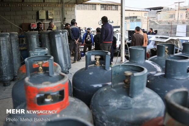 پس از گرانی بنزین در قم LPG  بازار داغ گاز