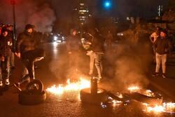 اقدام معترضان لبنانی در بستن تعدادی از مسیرها