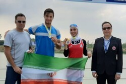Iran wins two gold medals at 2019 Asian Rowing Cup