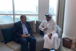 Iran, Qatar football chiefs meet in Doha