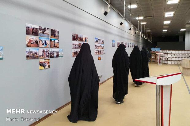 """نمایشگاه جشنواره ملی عکس""""سیل وحدت"""""""