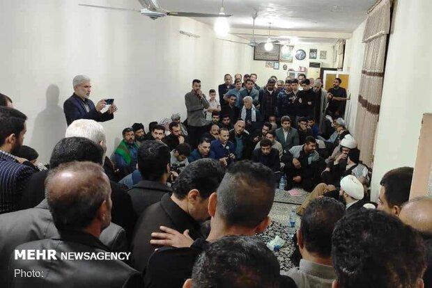 مردم ماهشهر: تا جان داریم پای رهبری ایستاده ایم