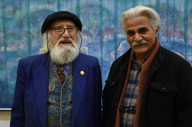 نمایشگاه «روزگار محجوب» در گالری مهرسان افتتاح شد