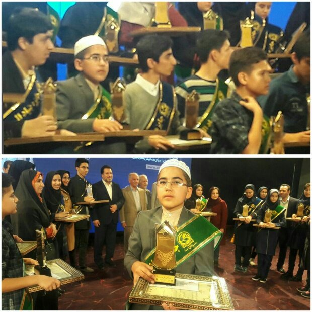 دانش آموز گمیشانی جایزه بنیاد البرز را دریافت کرد